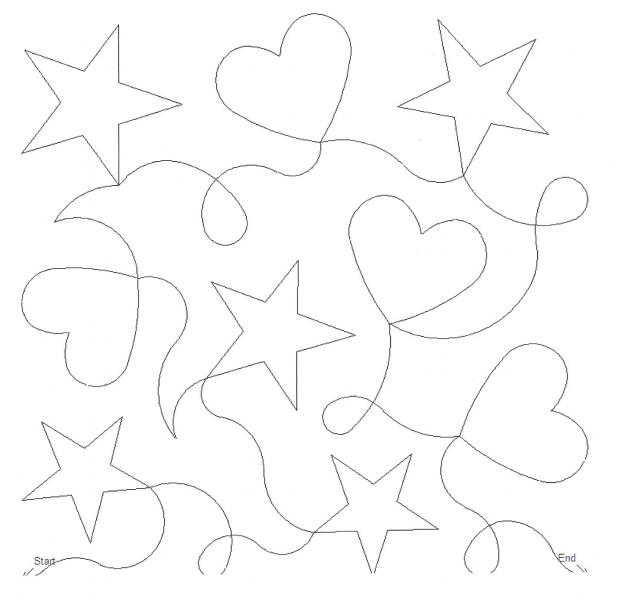 Hearts, Stars and Loops